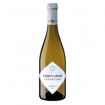 Santorini Assyrtiko Santo Wines | Weißwein trocken (0,75 l)