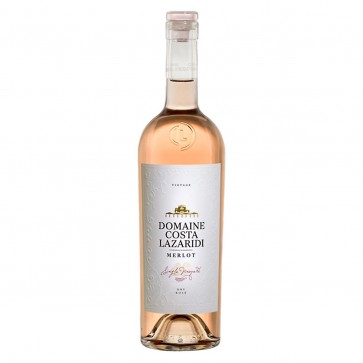 Merlot rosé Costa Lazaridi | Roséwein trocken (0,75 l)