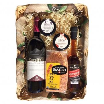 Geschenkideen aus Griechenland mit Rotwein