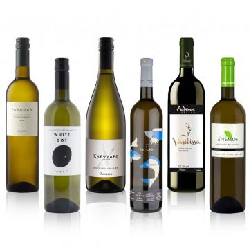 Typischer Griechischer Wein Probierpaket Weißwein | Ouzoland