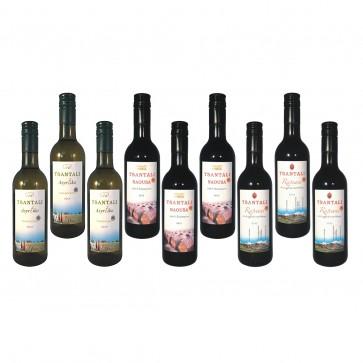 Kleine Weine aus Griechenland | Tsantali Weine (9 x 0,25 l)