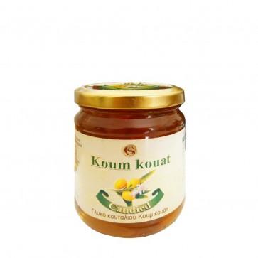 Kumquat kandiert eingelegt in Sirup kaufen | Corfu Spirit (250 g)