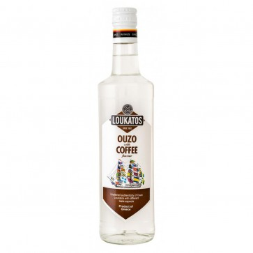 Ouzo Loukatos Coffee (0,7 l)