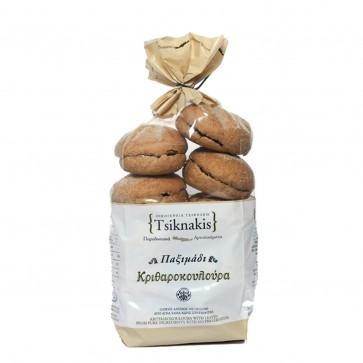 Paximadi Gerstenzwieback rund MINI | Tsiknakis (400 g)
