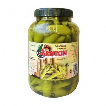 Peperoni grün mild im Fass | Ariston (700 g)