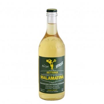 Retsina Malamatina | Weißwein geharzt (0,5 l)
