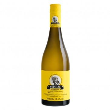 Retsina Sophias | Weißwein geharzt (0,5 l)