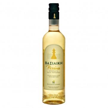 Retsina Vasiliki Mesimvria Winery   Weißwein geharzt (0,5 l)