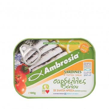Sardinen in Harissa Sauce | Vialco (100 g)