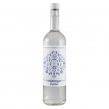 Tsipouro Sigalas ohne Anisgeschmack (0,7 l)