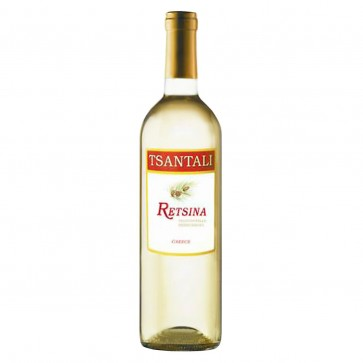 Retsina weiß Tsantali | Weißwein trocken geharzt (0,75 l)
