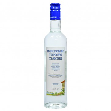Tsipouro Makedoniko Tsantali mit Anisgeschmack (0,5 l)
