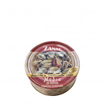 Muscheln in Tomatensauce pikant   Zanae (160 g)