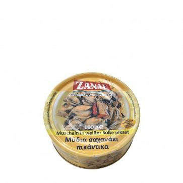Muscheln in weißer Sauce pikant | Zanae (160 g)