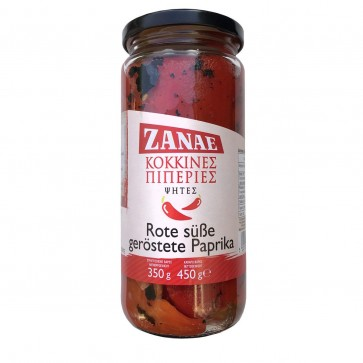 Rote süße geröstete Paprika Florinis | Zanae (450 g)