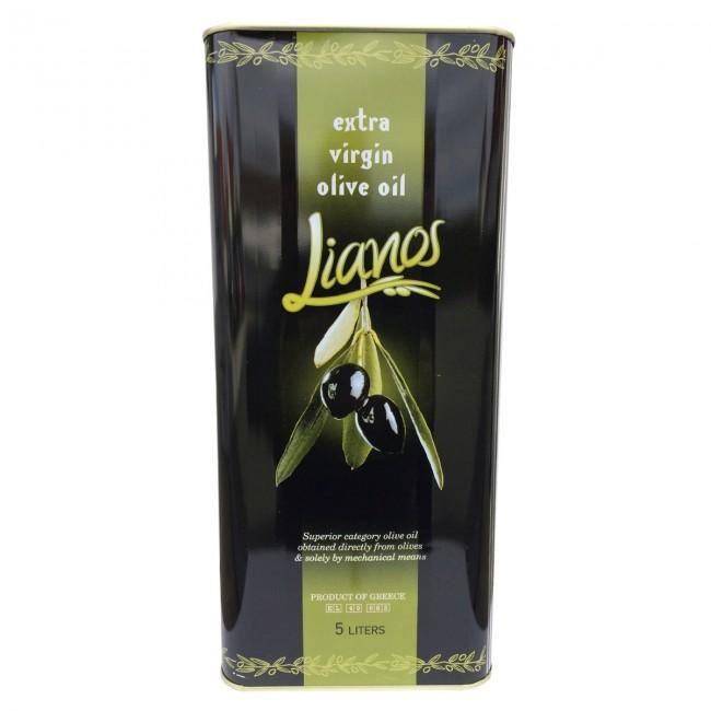 oliven l vom peloponnes im kanister kaufen lianos 5 l. Black Bedroom Furniture Sets. Home Design Ideas