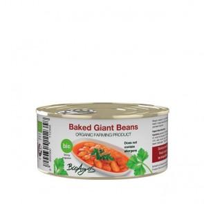 BIO Weiße Riesenbohnen in Tomatensauce Gigantes | Bioagros (280 g)