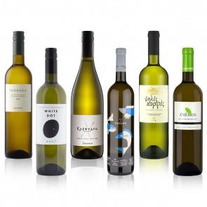 Typischer Griechischer Wein Probierpaket Weißwein