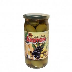 Griechische grüne Oliven mit Stein (215 g)