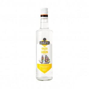Ouzo Loukatos mit Lemon (0,2 l)