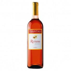 Retsina rosé Tsantali | Roséwein trocken geharzt (0,75 l)