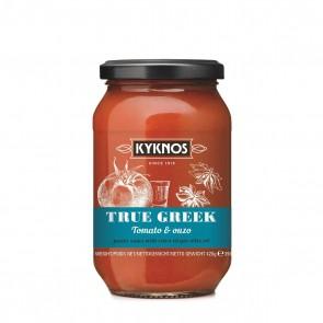 Pasta Saucen kaufen-Tomatensauce mit Ouzo | Kyknos (420 g)