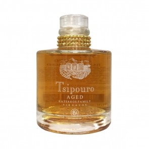 Tsipouro Aged Katsaros ohne Anisgeschmack (0,2 l)