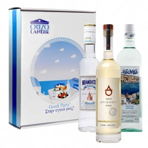 Tsipouro Geschenkset Greek Party!
