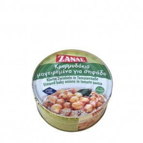 Kleine Zwiebeln in Tomatensoße Stifado   Zanae (280 g)