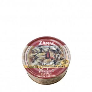 Muscheln in Tomatensauce pikant | Zanae (160 g)