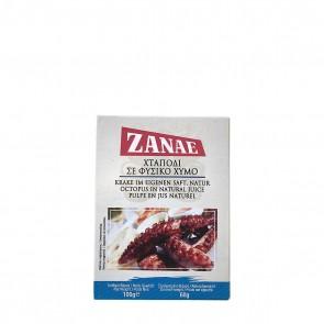Oktopus im eigenen Saft natur | Zanae (100 g)