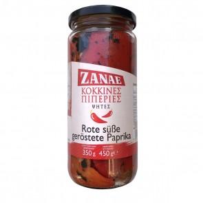 Rote süße geröstete Paprika Florinis   Zanae (450 g)
