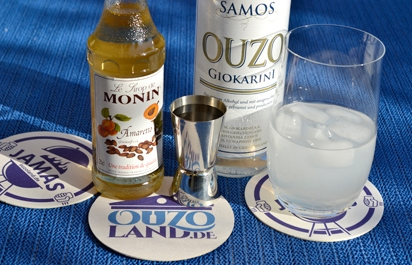 Cocktail Ouzo Amaretto