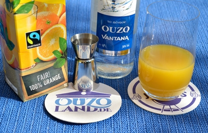Longdrink Ouzo Orange