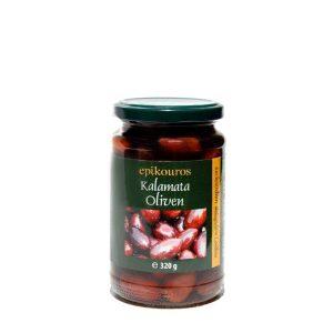 Griechische Kalamata Bio Oliven